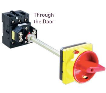 LB12531309MB34RDYR 125A 600V 3-Pole Lockable Disconnect Switch