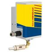 Vortec 7435 Vortex Cooler : ATEX Hazardous Duty EX II 3 GD T4, Low Noise (62dba), 2500 Btu, 35 SCFM, with mechanical thermostat, air filter, & ducting kit