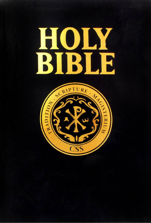 Cover of the Catholic Scripture Study RSV-CE Bible