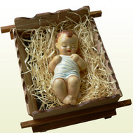 Handmade Infant Jesus Statue