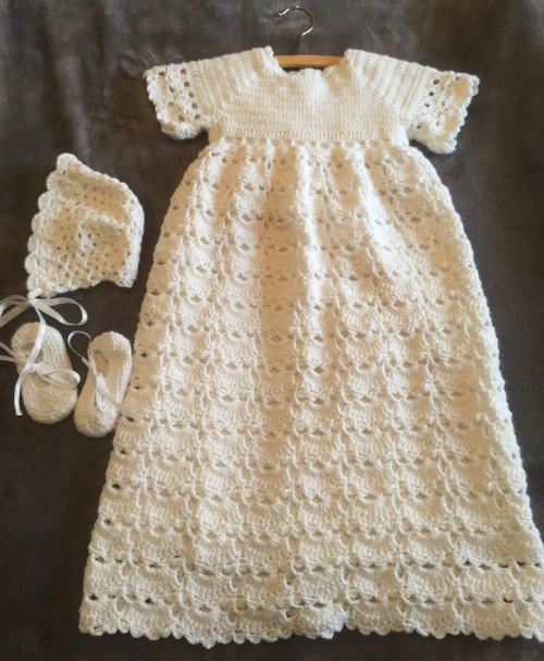 Christening Gown Set Handmade By The Sister Servants Casa Maria