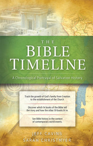 The Bible Timeline Chart - Jeff Cavins and Sarah Christmyer