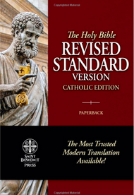 RSVCE - Revised Standard Version - Catholic Edition Bible   (Paperbound)