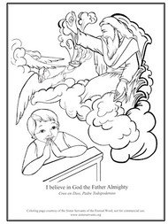 Credo Coloring Book - Sister Servants of the Eternal Word