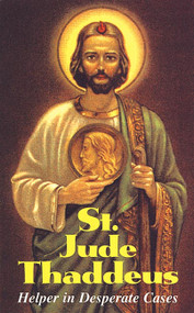 St. Jude Thaddeus: Helper in Desperate Cases Booklet by TAN Publishers