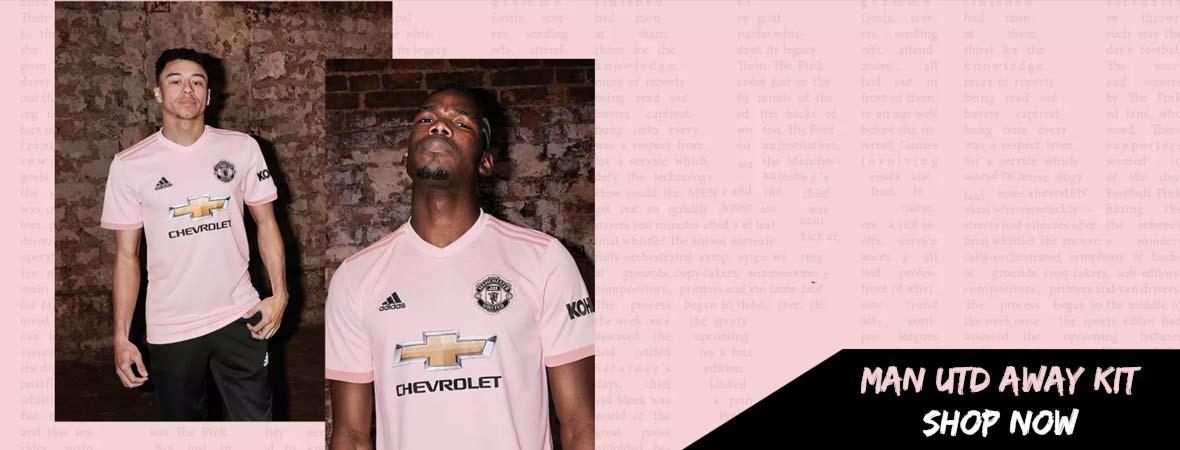 Manchester United Away Kit 18/19