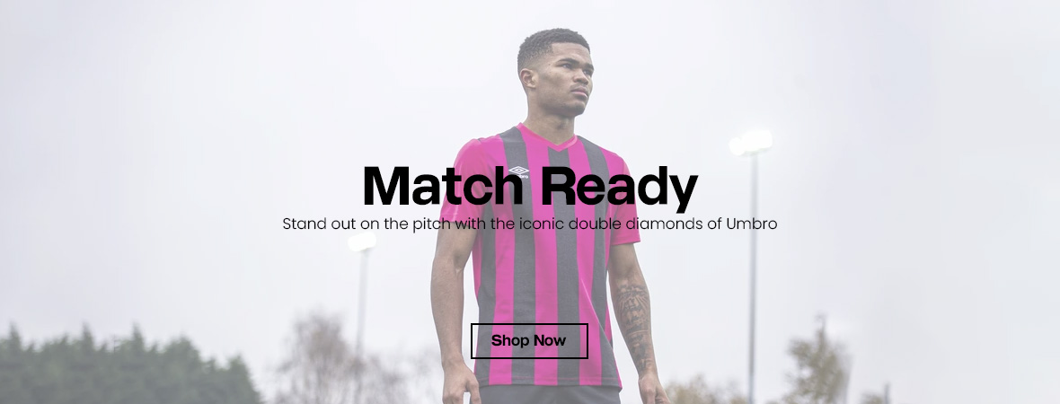 Stand out on the pitch in Umbro