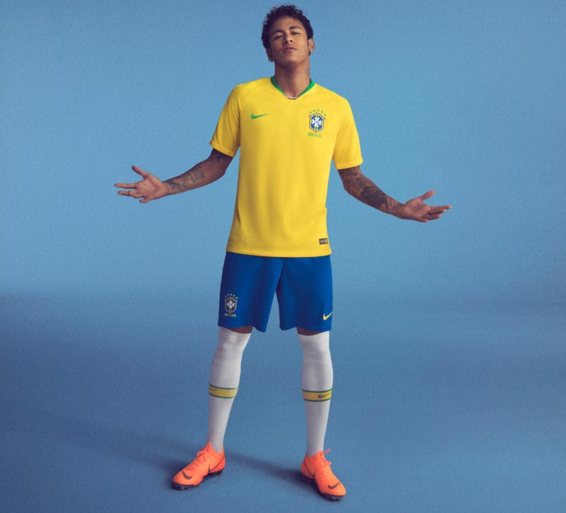 8fce12931 The new Brazil World Cup kit is everything a Brazil kit should be ...