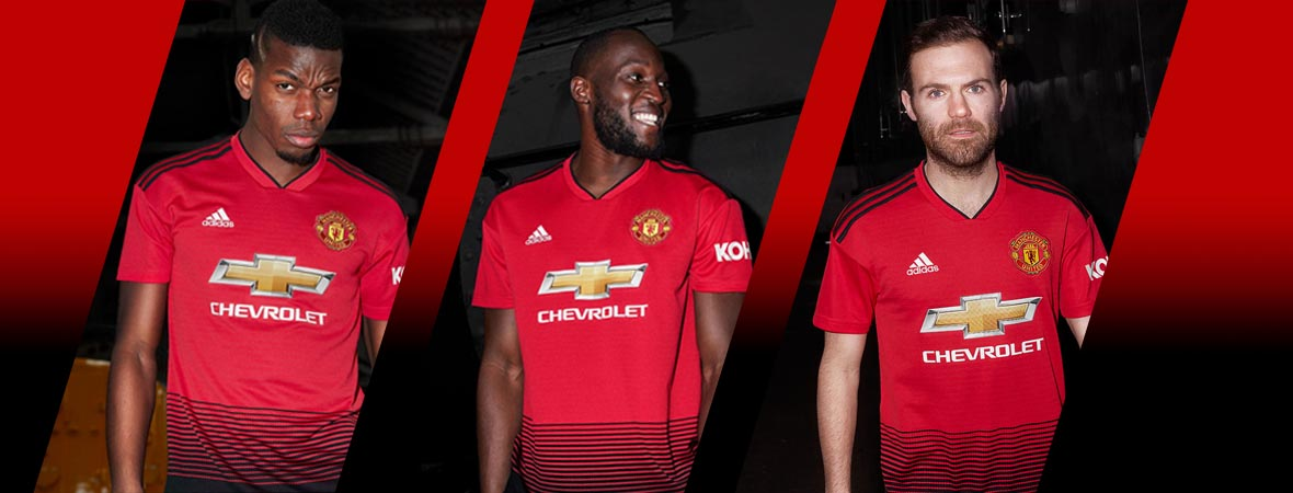 0106572c003 Football Nation - Man Utd Shirts   Kits 2018 19 - adidas