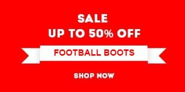 Up to 50% off adults' & kids' football boots