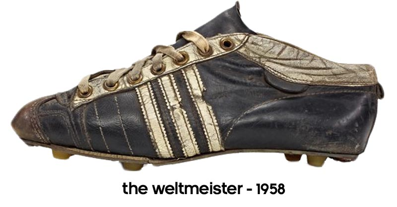 de01ae99531d5e The majority of the German national team wore these boots as they won the  1954 World Cup