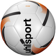 Footballs - Team Training Ball - White/Fluo Orange/Black - Uhlsport