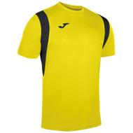 Joma Dinamo Football Shirt (Black/Yellow)