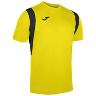 Joma Dinamo Kids Football Shirt (Yellow/Black)