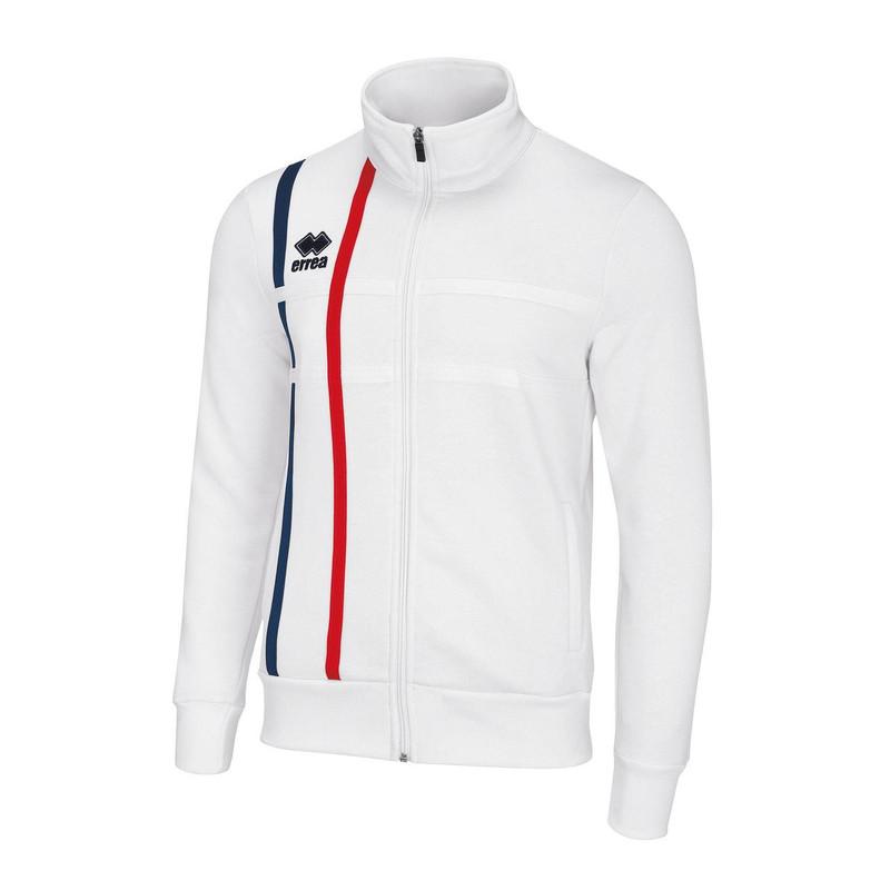a82eb8e0b Kids Football Sweatshirts - Errea Micael Full-Zip Top - 35% Off RRP