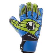 Uhlsport Eliminator Soft Pro Goalkeeper Gloves (Blue)