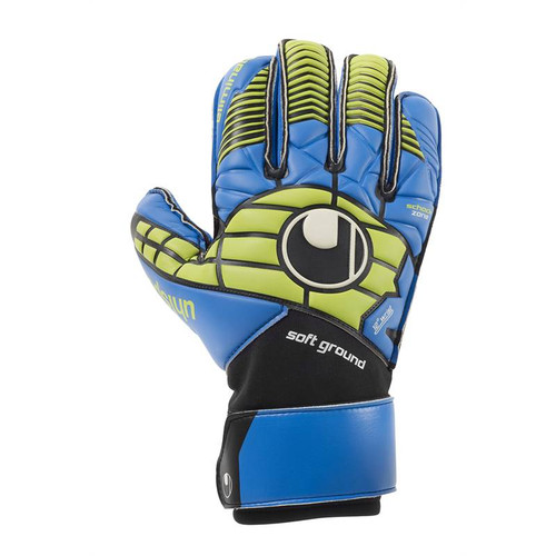 Uhlsport Eliminator Soft RF Comp Goalkeeper Gloves (Blue)