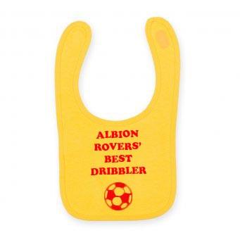 Albion Rovers Baby Bib