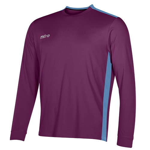mitre Charge Long Sleeve Football Shirt