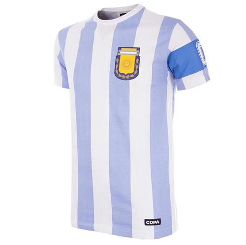 Argentina Capitano Kids Retro Shirt (COPA 6850)