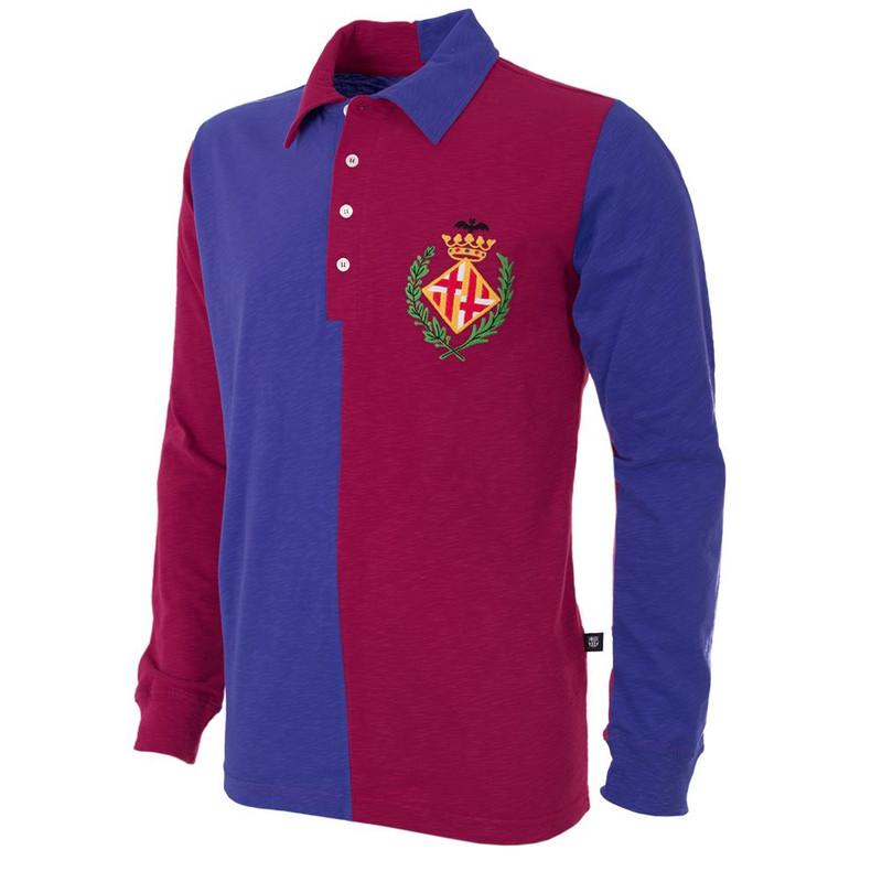 super popular 06a0b 0bfd6 Barcelona Retro Home Shirt 1899