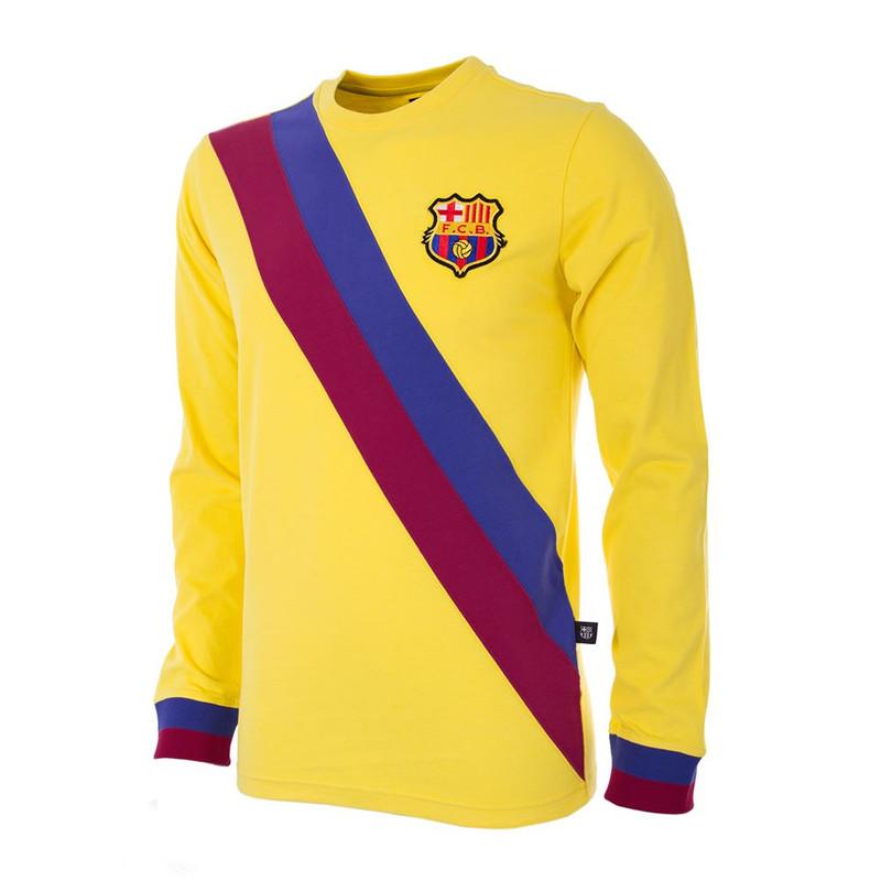 pretty nice 9733d f9f01 Barcelona Away Retro Shirt 1974/75