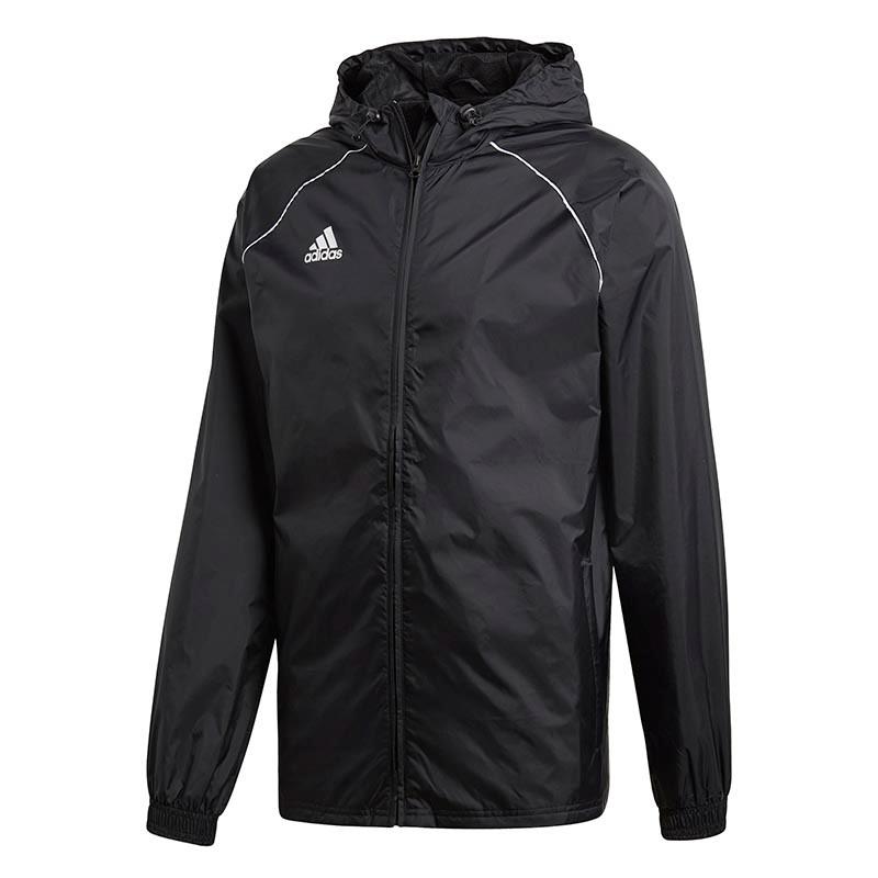 9196f6dbc Kids Football Jackets - adidas Core 18 Rain Jacket - 25% Off RRP