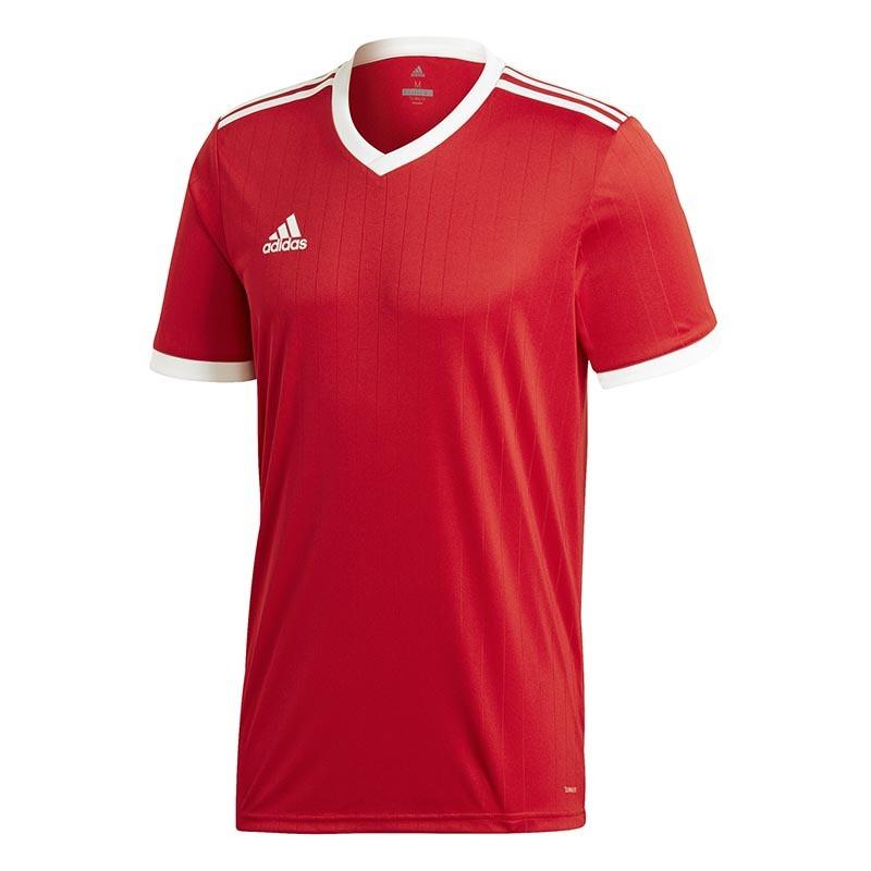 adidas Tabela Mens Short Sleeved Football Jersey Team Kit Training T Shirt White