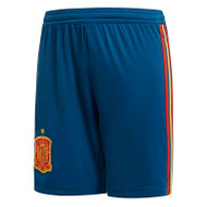 Spain Kids Home Shorts World Cup 2018