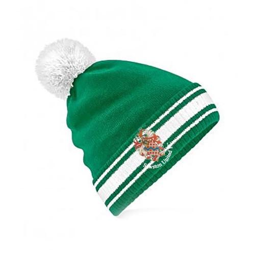 Sawston United Bobble Beanie Hat