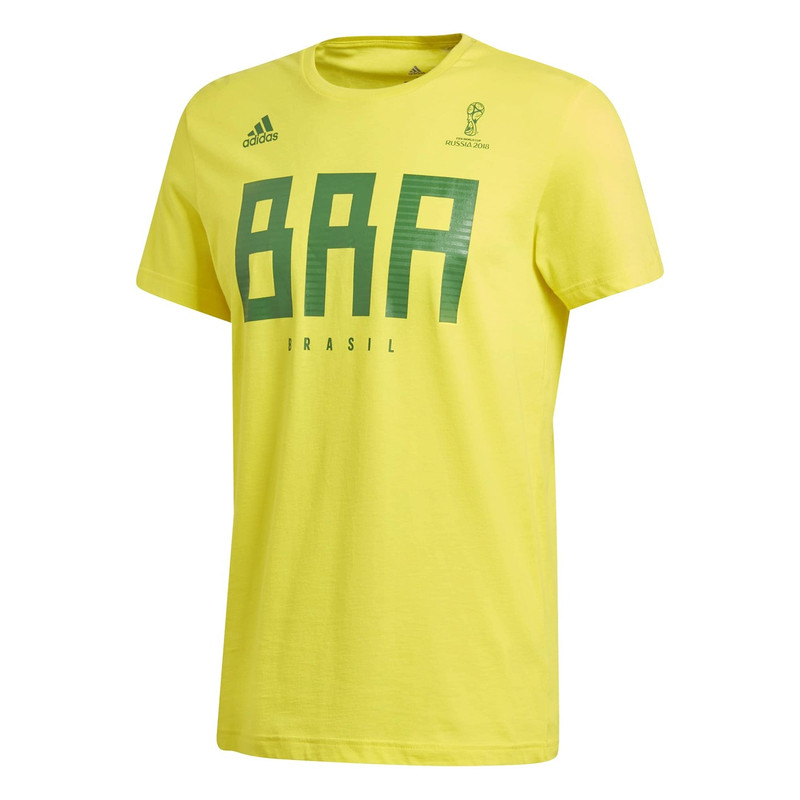 95b7b0383 Football Nation - Brazil World Cup T-Shirt - adidas