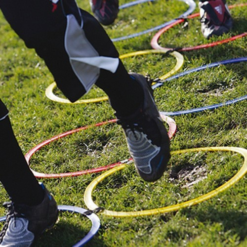 Precision Speed Agility Hoop Ladder Set