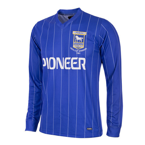 Ipswich Town Retro Home Shirt 1981/82
