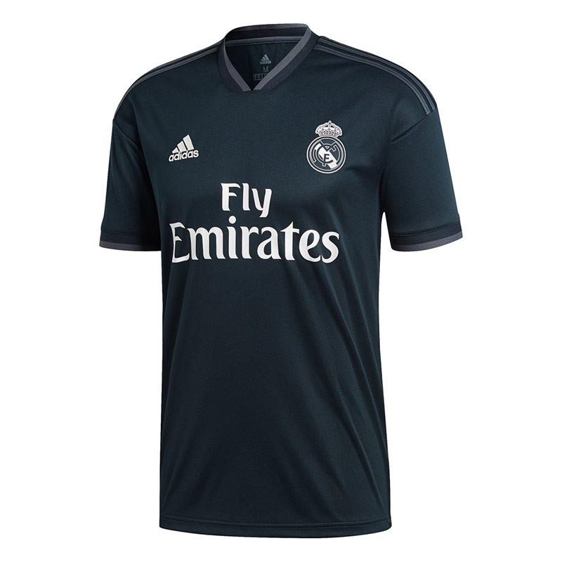 f62d6a4c2ea adidas Real Madrid Away Stadium Shirt - Black Onix - Kids Replica Shirts -  CG0533