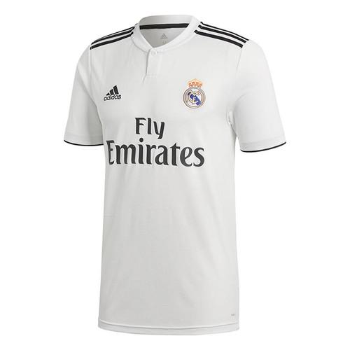 adidas Real Madrid Home Shirt 18/19 - White/Black - Kids Replica Shirts - CG0552