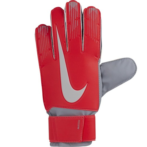 Nike GK Match Goalkeeper Gloves - Crimson/Grey - Men's Goalkeeper Gloves - GS3370-671