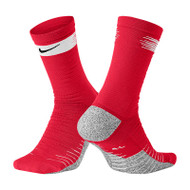 Nike Grip Football Socks - Red - Men's Football Socks - SX6939-657