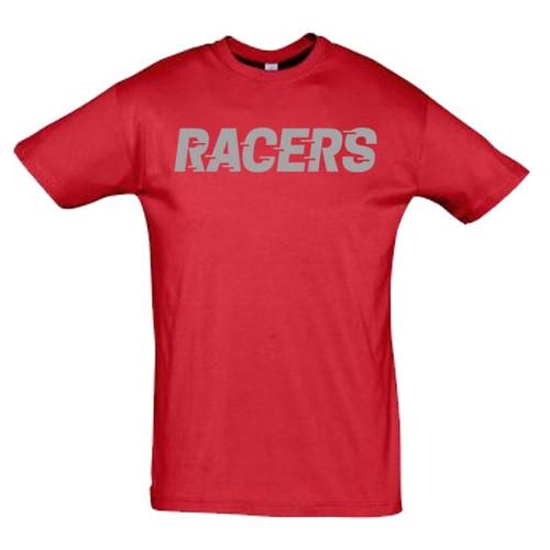 Murrayfield Racers T-Shirt - Red - Men's Leisurewear
