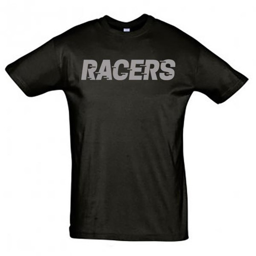 Murrayfield Racers T-Shirt - Black - Men's Leisurewear