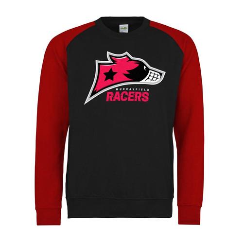 Murrayfield Racers Baseball Sweatshirt