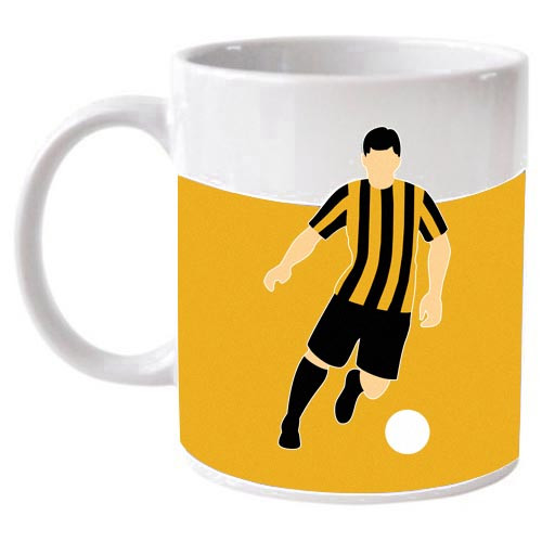 Berwick Rangers Retro Player Mug