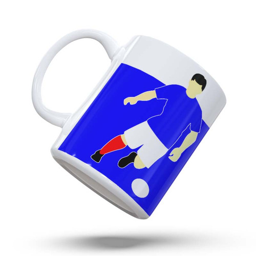 Cowdenbeath Retro Player Mug