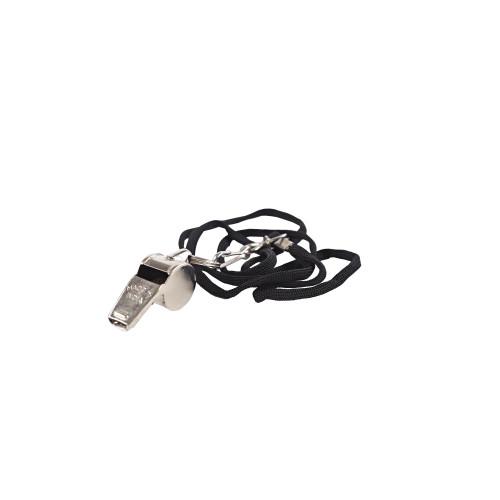 mitre Metallic Whistle & Lanyard