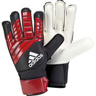 adidas Predator Kids Goalkeeper Gloves - Black/Red - CW5606