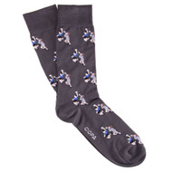Copa Hand Of God World Cup Socks - Dark Grey - Men's Football Fashion - COPA 5121