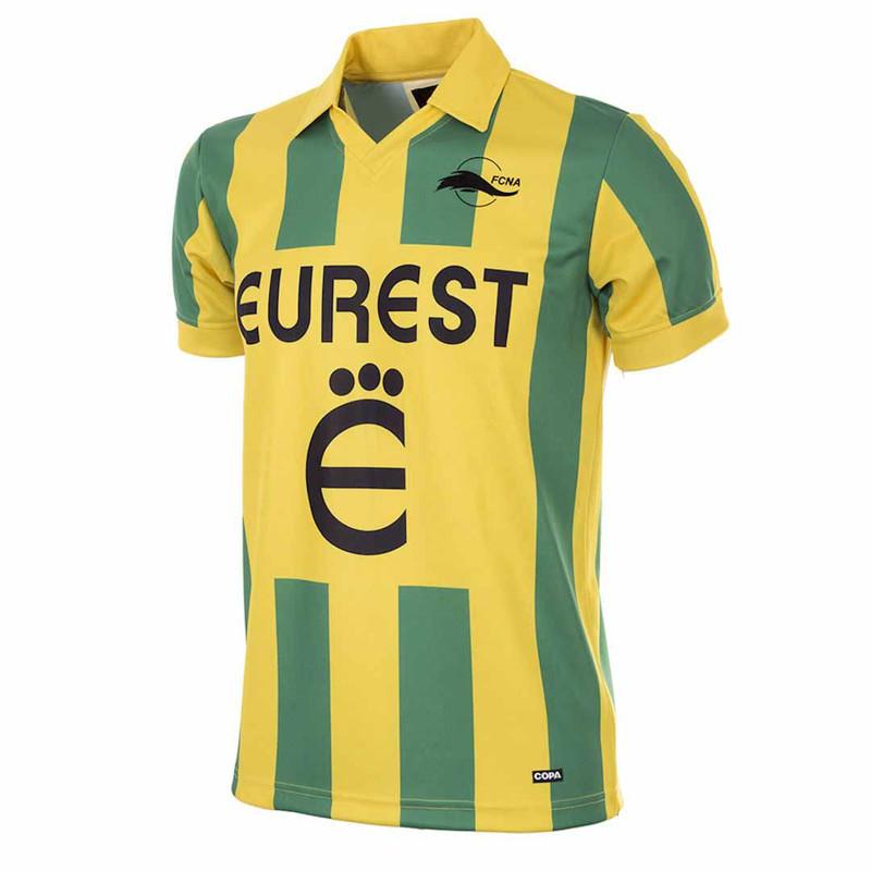 Retro Football Shirts - Nantes Home 1994 95 - Copa 1944f6b0f