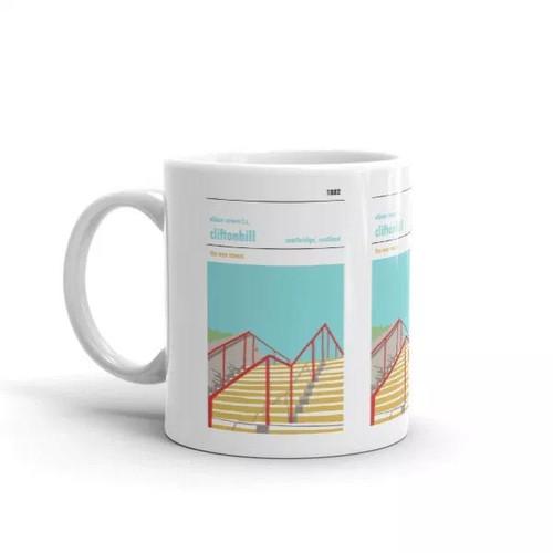 Albion Rovers Cliftonhill Print Mug