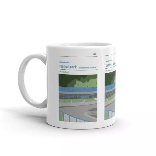 Cowdenbeath Central Park Print Mug