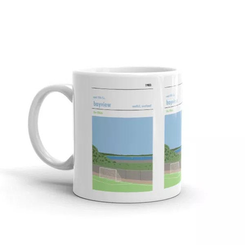 East Fife Bayview Stadium Print Mug