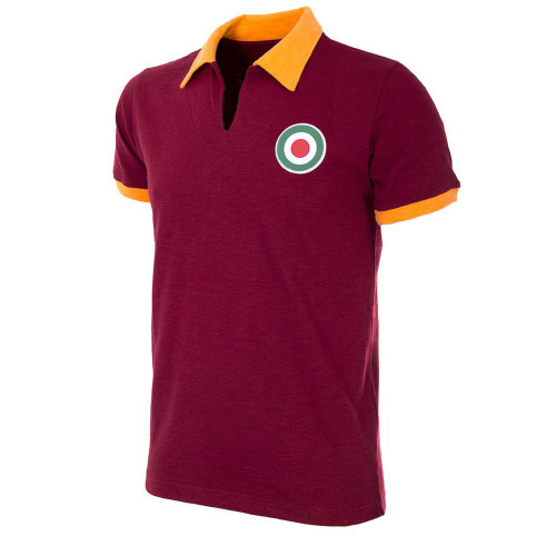 Retro Football Shirts - A.S Roma Home 1964/65 - Crimson/Gold - COPA 730
